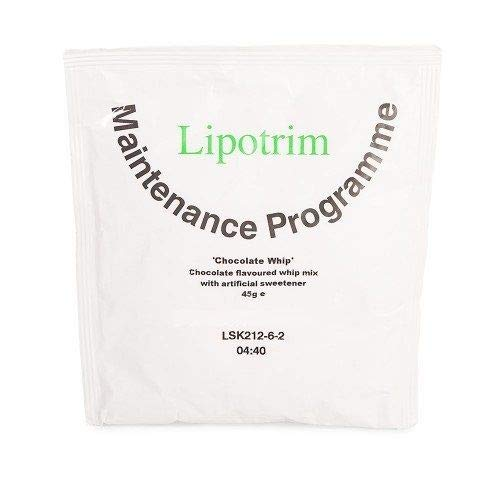 Lipotrim Maintenance Diet Chocolate Whip Dessert Mix (21)