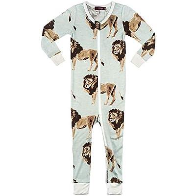 Bamboo Zipper Pajama Boys 3-6M