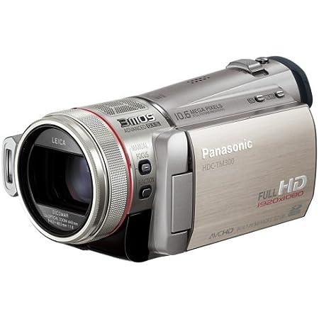 パナソニック デジタルハイビジョンビデオカメラ シルバー HDC-TM300-S