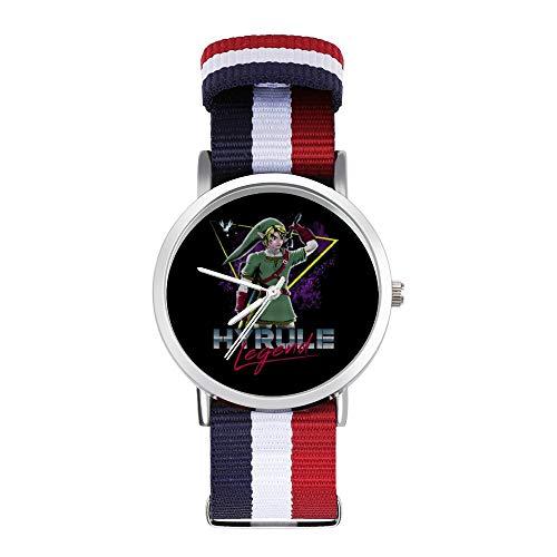 Hyrule Legend of Zelda Armbanduhr, geflochten, mit Skala