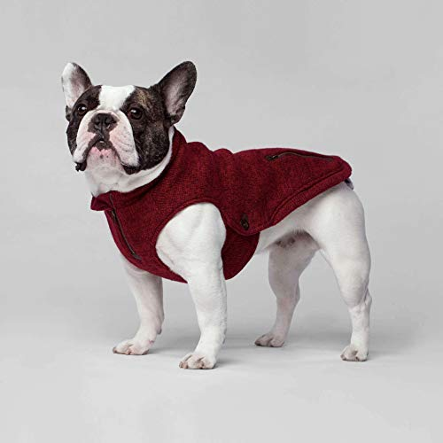 Canada Pooch Northern Knit Pullover Rot XL - 5