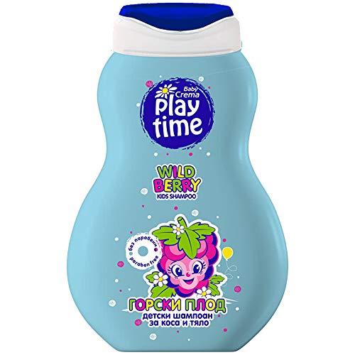 Sanftes Baby-Shampoo für Kinder, Waldfrüchte, ohne Parabene, 250 ml