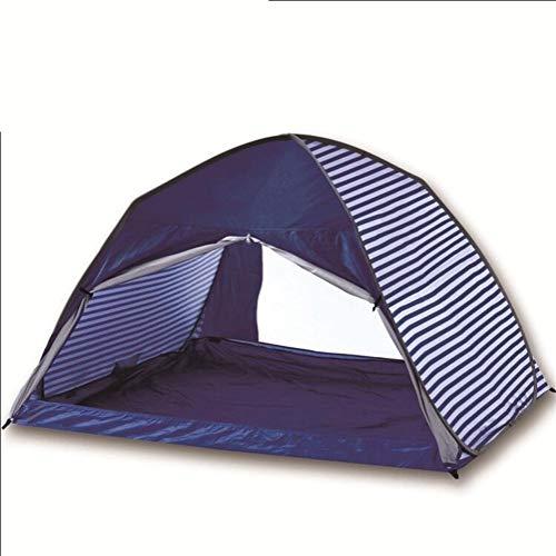 AZZkoepeltent, luifel, TentPop-up, strandscherm, UV-zonwering, draagbare reistas voor 3-4 personen, opvouwbaar, buiten, strand, camping, schuur, voor tuin, camping, vissen, strand