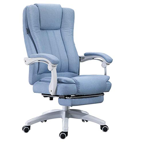 N/Z Daily Equipment Boss Chair Bedroom Massage Chair Study Leather Computer Chair Living Room Recliner Home Computer Chair Writing Chair A 65CM*65CM*127CM