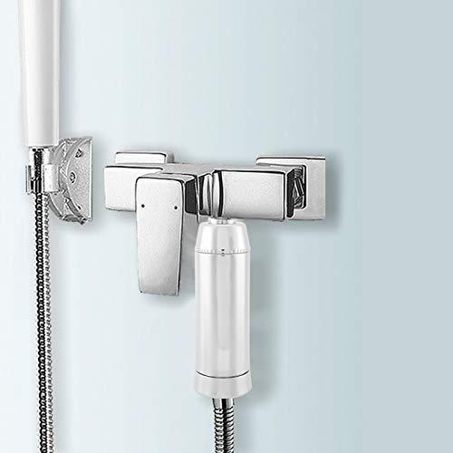 Función de desintoxicación duradera, saludable y cómoda Filtro de agua de baño Filtro de ducha Filtro de agua de calidad de purificación Baño para el hogar