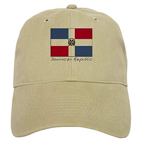 Rogerds Dominican Republic (Flag) - Baseball Cap with Adjustable Closure, Unique Printed Baseball Hat