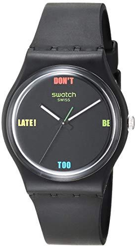 Swatch Essentials Quartz Plastic Strap,...
