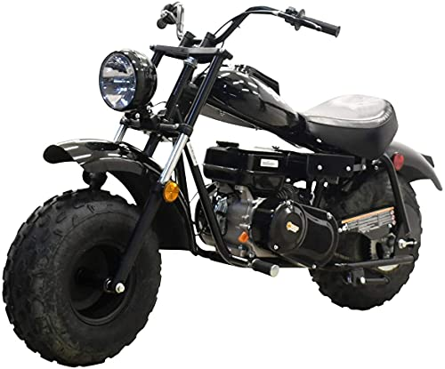 Massimo Motor MB200 196CC Engine Super Size Mini Moto Trail Bike MX Street for Kids and Adults Wide Tires CARB Approved-camo (Black)