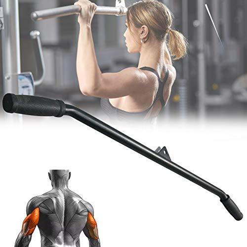 SCXLF Mango para Pulldown Máquinas de Lat,máquinas de Fitness Gimnasio, Máquina de Remo Mango de Ejercicio Antideslizante para Gimnasio Casa