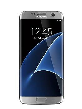Samsung Galaxy S7 Edge unlocked smartphone 32 GB Silver  US Warranty - Model SM-G935UZSAXAA