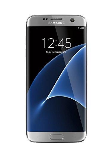Samsung Galaxy S7 Edge unlocked smartphone, 32 GB Silver (US Warranty - Model SM-G935UZSAXAA)