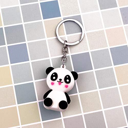 DSJ Panda Vliegtuig Sleutelhanger Sleutelhanger Handtas Sleutelhanger