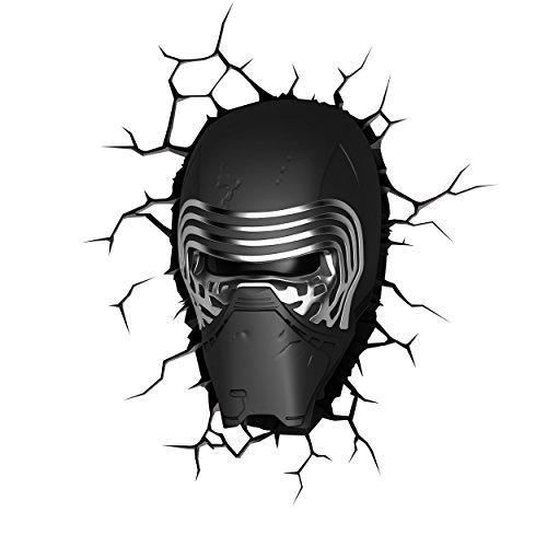 JWP Limited Star Wars Episode VII Das Erwachen der Macht Kylo Ren 3D Wandleuchte