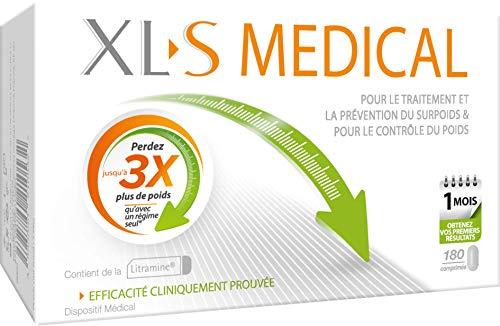 OMEGA PHARMA - XLS Medical Capteur de Graisses 180 comprimés