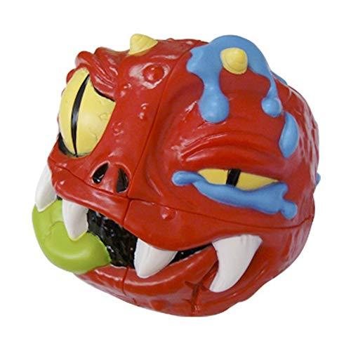 Devil-mamá Cubo Cubo de la Velocidad 2X2X2 Puzzle Adultos Magia descompresión de Juguete Cubo 3D y Original Toque de Puzzle niños Juguetes de Viaje para Regalo,Rojo