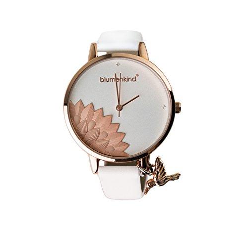 Uhr - Blumenkind Pennsylvania - Alu rosé weiß
