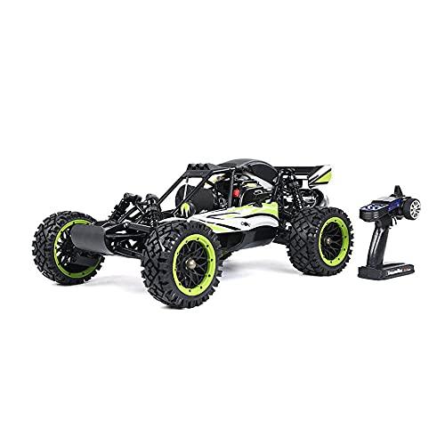 Carro De Control Remoto De 2.4 G De Aceite, 1: 5 Scale Remoto Control Remoto Camión Violencia Violencia Simulación De Combustible Modelo De Alta Velocidad para Niños Hobby Toys