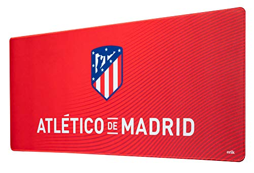 ERIK - Mousepad XXL, Alfombrilla de ratón XXL Atlético de Madrid, 80X35 cm, Producto oficial