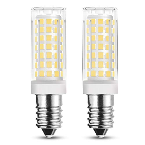 Rayhoo 4pcs E14 Base LED Bulb 5W LED Light, 51 2835-SMD LED Chipsets, 40W Incandescent Bulb Equivalent, Not Dimmable, Warm White 2800-3200K, 400LM