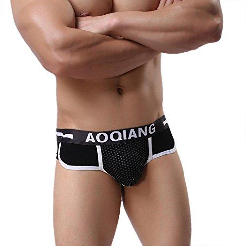 Bóxers para Hombre,JiaMeng Calzoncillos Blandos de los Hombres Calzoncillos Calzoncillos Pantalones Cortos Ropa Interior