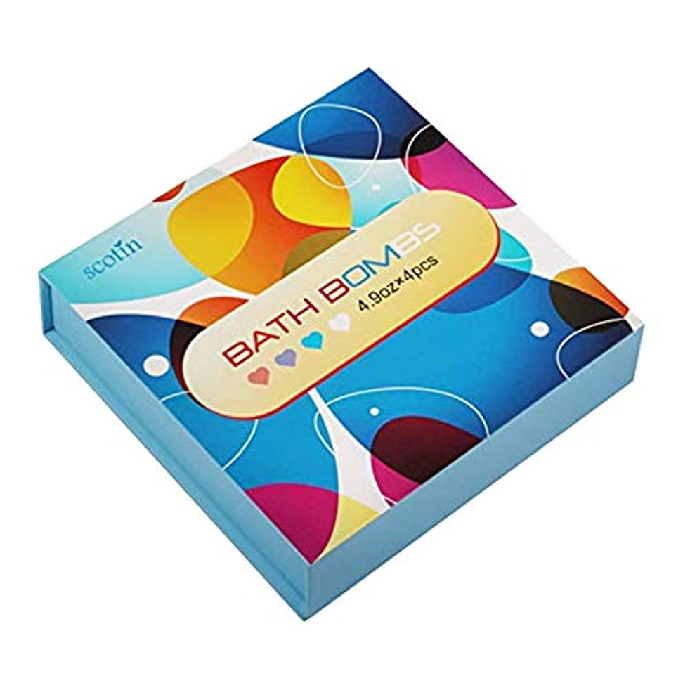 デンマーク分析的退屈させるTOOGOO バスボール?ギフトセット-女性のための 4つのハート型 手作り-パーフェクト バブル&スパバス用-乾燥肌を保湿するためのエッセンシャルオイルとフレグランスオイル