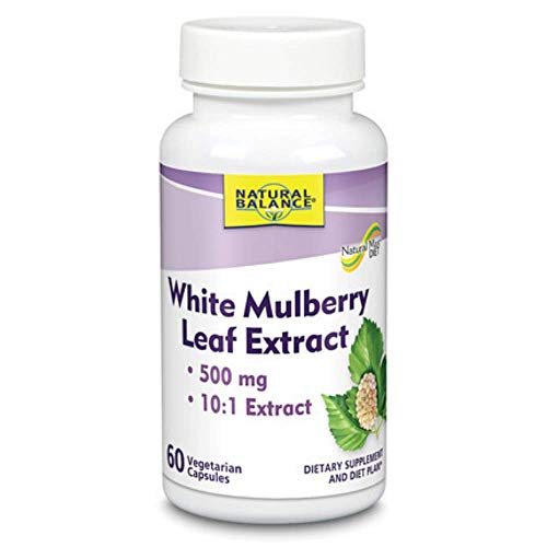 Natural Balance Leaf Extract, White Mulberry, 60 Count