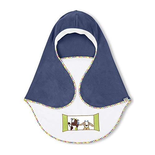 Sterntaler Einschlagdecke Wieslinge, Alter: Für Babys ab der Geburt, 75 x 90 cm, Blau/Weiß