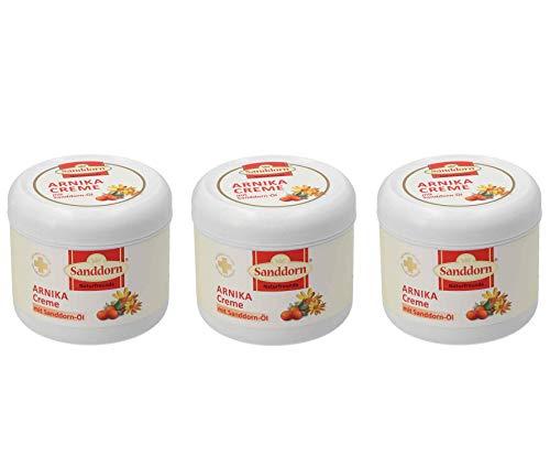 Naturfreunde Arnika-Creme | für alle Hauttypen | antiseptisch und entzündungshemmend | 250 ml 3er