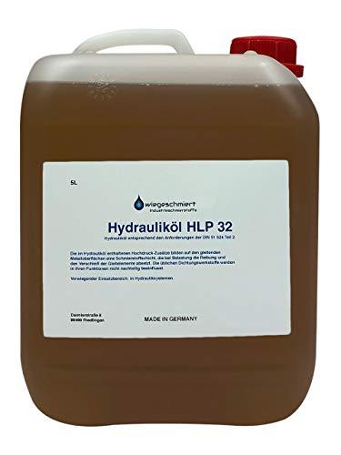 Hydrauliköl HLP 32 ISO VG 32 nach DIN 51524 Teil 2 (5 Liter)
