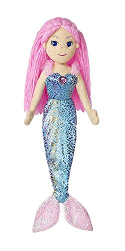 Aurora World 33068 - Sea Sparkles - Meerjungfrau Nixie 18In, 46 cm