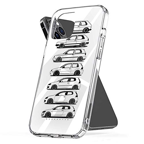 Phone Case Golf GTI Generartion Compatible with iPhone 6 6s 7 8 X XS XR 11 Pro Max SE 2020 Samsung Galaxy Shock Absorption Bumper