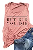AIMITAG But Did You Die Muscle Tank Top Women Workout...