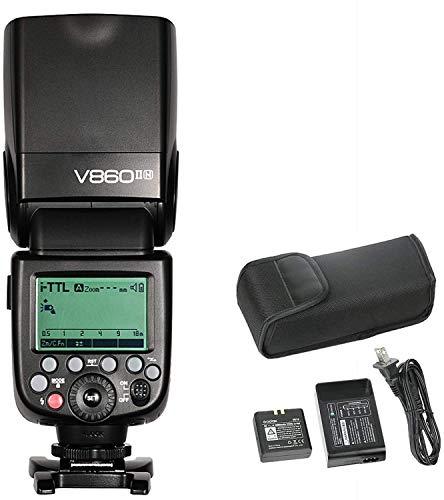 Flash Godox V860ii Com Bateria Li -ion Para Nikon