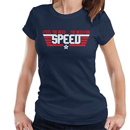 Cloud City 7 Top Gun Feel The Need for Speed Women's T-Shirt