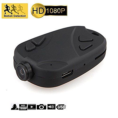 Keychain Camera 808 1080P Wide Angle 120 Degree Nanny Cam Motion Activated Portable Pocket DV