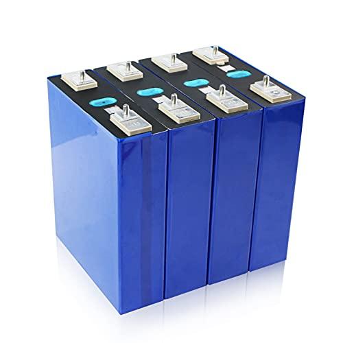ZOOMLOFT 4Pcs 3.2V 200Ah LIFEPO4 Batería De Litio Iron Phospha DIY 12V 24V Motocicleta Coche Eléctrico Batería De Inversor Solar