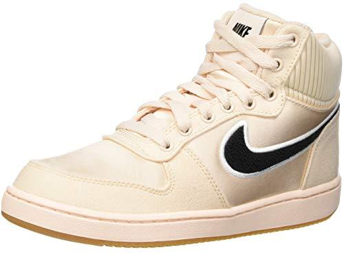 Nike Damen WMNS Ebernon Mid Prem Sneakers, Mehrfarbig (Guava Ice/Black/Gum Light Brown 001), 40 EU