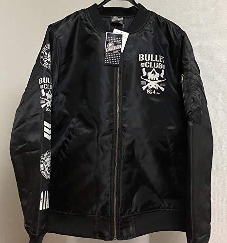 ブラック新日本プロレス バレットクラブ MA-1 黒 Lサイズ タグ付き BULLET CLUB ブルゾン ジャケット ジャンバー L