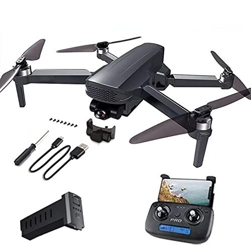 HAOJON Drone 4K, GPS Professionale con Fotocamera cardanica a 3 Assi Quadcopter RC brushless a Lunga Distanza da 1200 m 26 Minuti 5G FPV Drone 1 Batteria