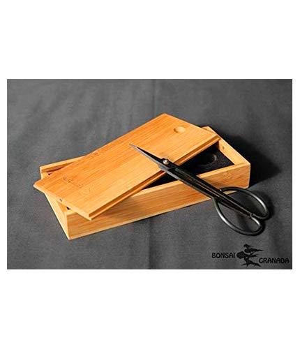 BonsaiGranada | Tijera Fina pinzadora 190 mm China (Caja no incluida) | Tijeras Profesionales para pinzar brotes nuevos de Bonsai