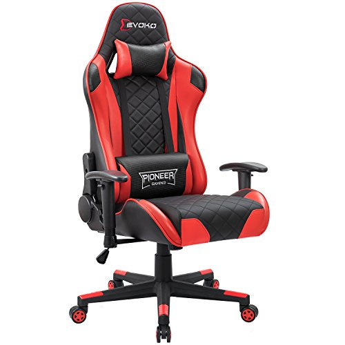 Devoko Gaming Chair Racing Style High Back Computer Chair with Adjustable...
