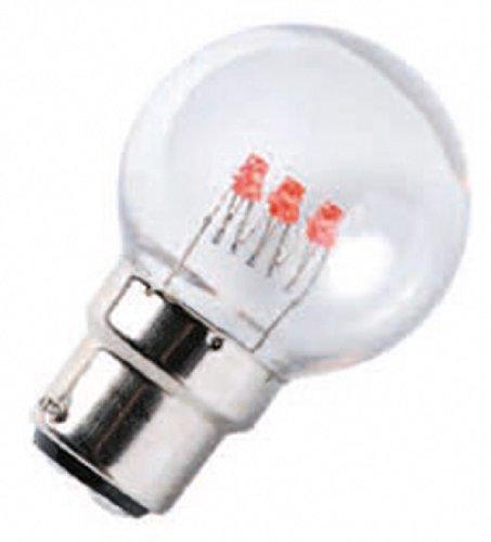 Lealight J607C Lot de 10 Lampes B22 Multicolore Ampoules LED 230 V
