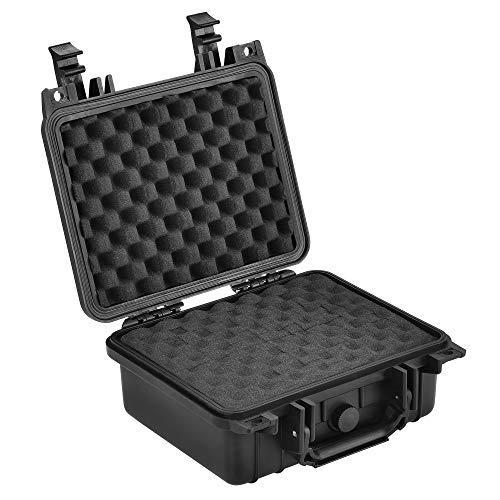 [pro.tec] Schutzkoffer 27 x 24,6 x 12,4 cm Waffenkoffer Universalkoffer Transportkoffer Fotokoffer Kamerakoffer IP55