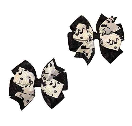 Music Notes Toddler Set Hair Clearance SALE Limited time Super intense SALE Bow