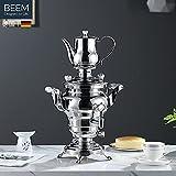 BEEM Samovar Rebecca 5l 1200W stainless steel (JP Version)