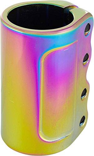 Urban Artt EVO V2Mini SCS Patinete de Clamp Neochrome + Fan tic26Pegatinas