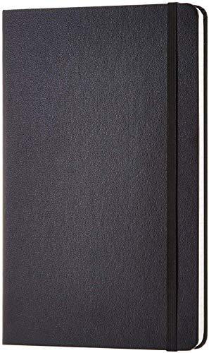 Amazon Basics Notizbuch, klassisches Design, groß, kariert