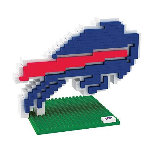 Buffalo Bills 3D Team Logo BRXLZ Puzzle