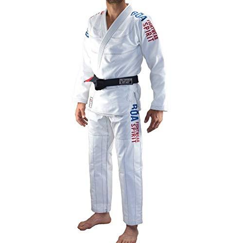 Bjj Gi Kimono Bõa Tudo Bem 2.0 - Blanco, A2
