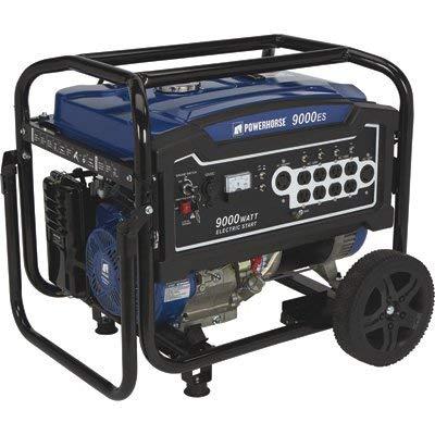 Powerhorse Portable Generator - 9000 Surge Watts, 7250 Rated Watts, Electric Start
